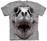 T-Rex Big Skull Shirts