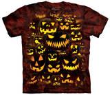 Jack O Lantern Wall T-Shirt
