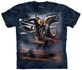 Ronald Reagan Velociraptor T-shirts
