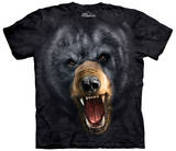 Aggressive Black Bear T-shirts