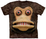 Big Face Cymbal Monkey T-shirts
