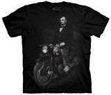 Biker Lincoln T-Shirt