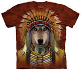 Wolf Spirit Chief Shirts