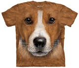 Big Face Jack Russell Terrier T-Shirt