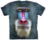 Big Face Mandrill Baboon T-shirts
