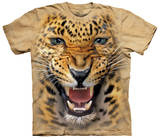 Angry Leopard Shirts