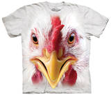 Big Face Chicken T-shirts
