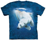 Polar Bear Dive T-shirts