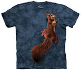Peace Squirrel Bluse