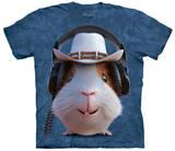 Guinea Pig Cowboy T-shirts