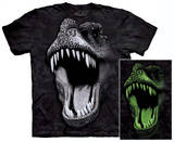 Big Face Glow Rex T-shirts