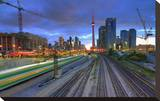 Dynamic Downtown Toronto Stretched Canvas Print