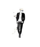 He's Got Swag Giclee Print by Jessica Durrant