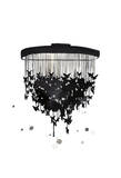 Butterfly Chandelier Print by Jessica Durrant