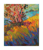 Hills in Quadtych (bottom right) Giclee Print by Erin Hanson