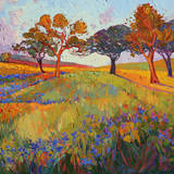 Colors of Brenham (center) Poster by Erin Hanson