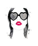 Kiss 'em and Hide Giclee Print by Jessica Durrant