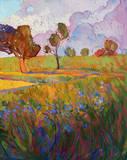 Colors of Brenham (right) Prints by Erin Hanson