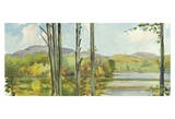 Lake Study (left) Prints by Elissa Gore