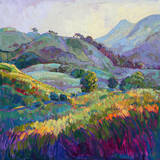 Jeweled Hills Posters by Erin Hanson