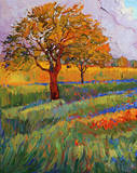 Colors of Brenham (left) Posters by Erin Hanson
