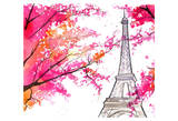 Paris for Grandma Prints by Jessica Durrant