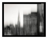 Chrysler Building Motion Landscape 1 Posters by Len Prince