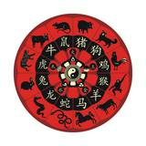 Chinese Zodiac Wheel Posters by  Yurumi