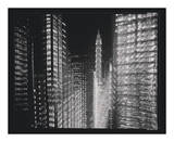 Chrysler Building Motion Landscape 4 Art by Len Prince