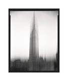 Empire State Building Motion Landscape 1 Giclee Print by Len Prince