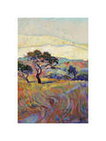 Summer in Triptych (right) Giclee Print by Erin Hanson