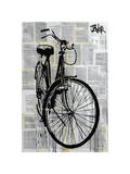 Bike Giclee Print by Loui Jover