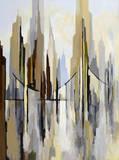 City Bridge (left) Plakater af Gregory Lang