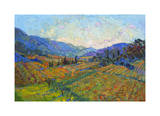 Napa in Color Giclee Print by Erin Hanson