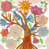 Sun Tree Posters by Mercedes Lagunas