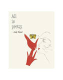 All is Pretty (Butterfly) Posters av Andy Warhol