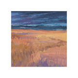 Deep Sky and Field Giclee Print by Jeannie Sellmer