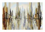 Crosstown Harbor Lámina giclée por Gregory Lang