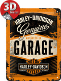 Harley-Davidson Garage Plaque en métal
