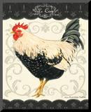 Le Coq II Mounted Print by Gwendolyn Babbitt