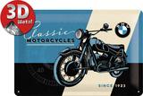 BMW - Classic Plaque en métal