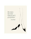 Andy Warhol - She Really has Class - Poster