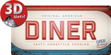 Diner Tin Sign
