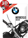 BMW - Motorcycles Since 1923 Plaque en métal
