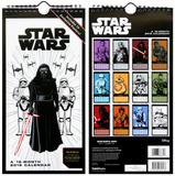 Star Wars Episode VII - 2016 Mini Poster Calendar Calendars