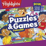 Highlights Puzzles & Games - 2016 Calendar Calendars