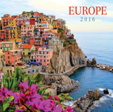 Europe Wall  - 2016 Calendar Calendars