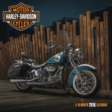 Harley-Davidson - 2016 Calendar Kalendáře