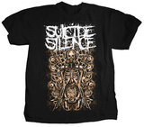 Suicide Silence - Mangled Gears T-shirts