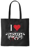 Testament - I Heart Thrash Tote Bag